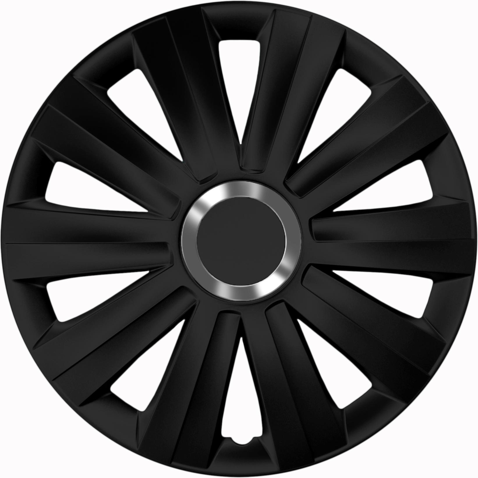 radkappen viper black schwarz 16 zoll auto radkappen. Black Bedroom Furniture Sets. Home Design Ideas