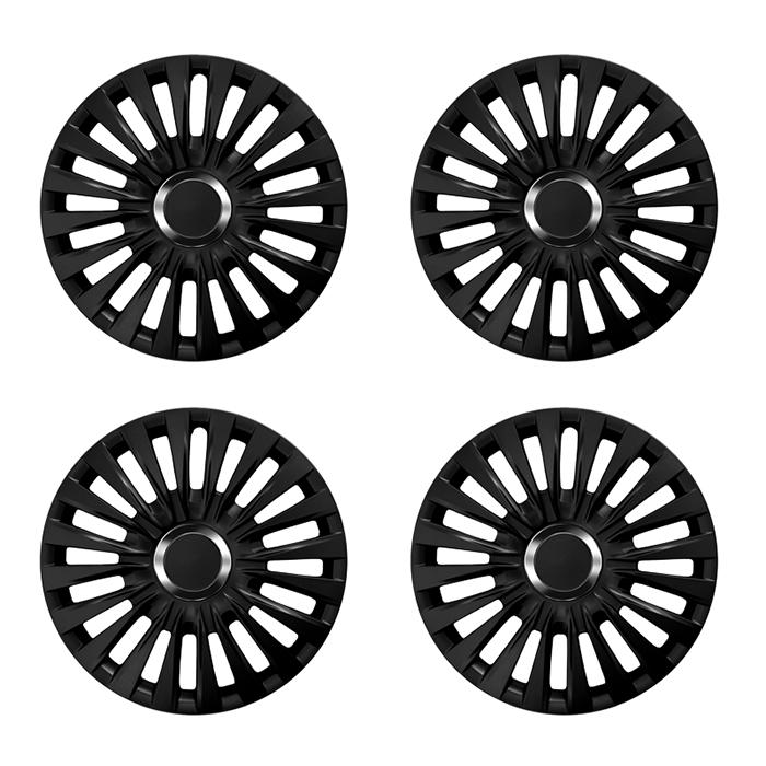 radkappen enzo black schwarz 14 zoll z b volkswagen. Black Bedroom Furniture Sets. Home Design Ideas