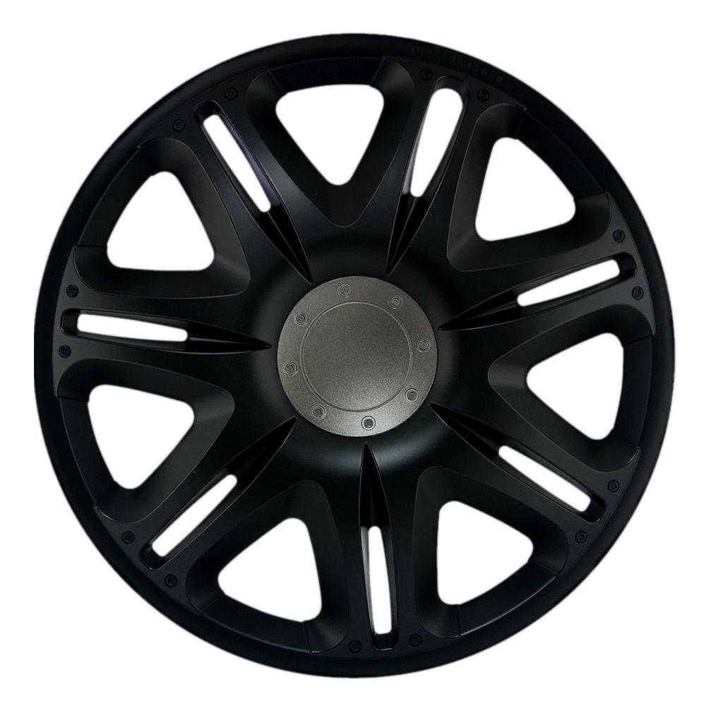 RADKAPPEN - NASCAR BLACK - Schwarz