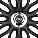 ERSATZ - Radnaben Abdeckung (chrom) für J-TEC Radkappen