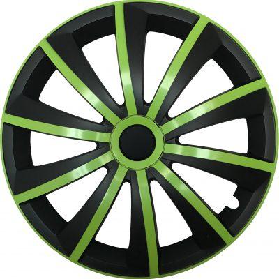 GRAL green/black - Auto-Radkappen