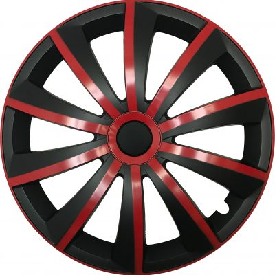 GRAL red/black - Auto-Radkappen