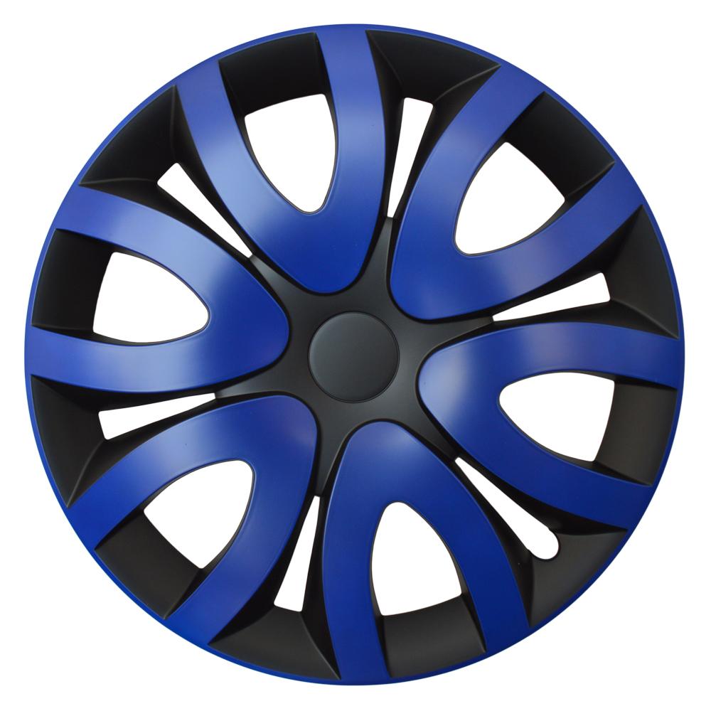 MIKA blau schwarz - Auto-Radkappen