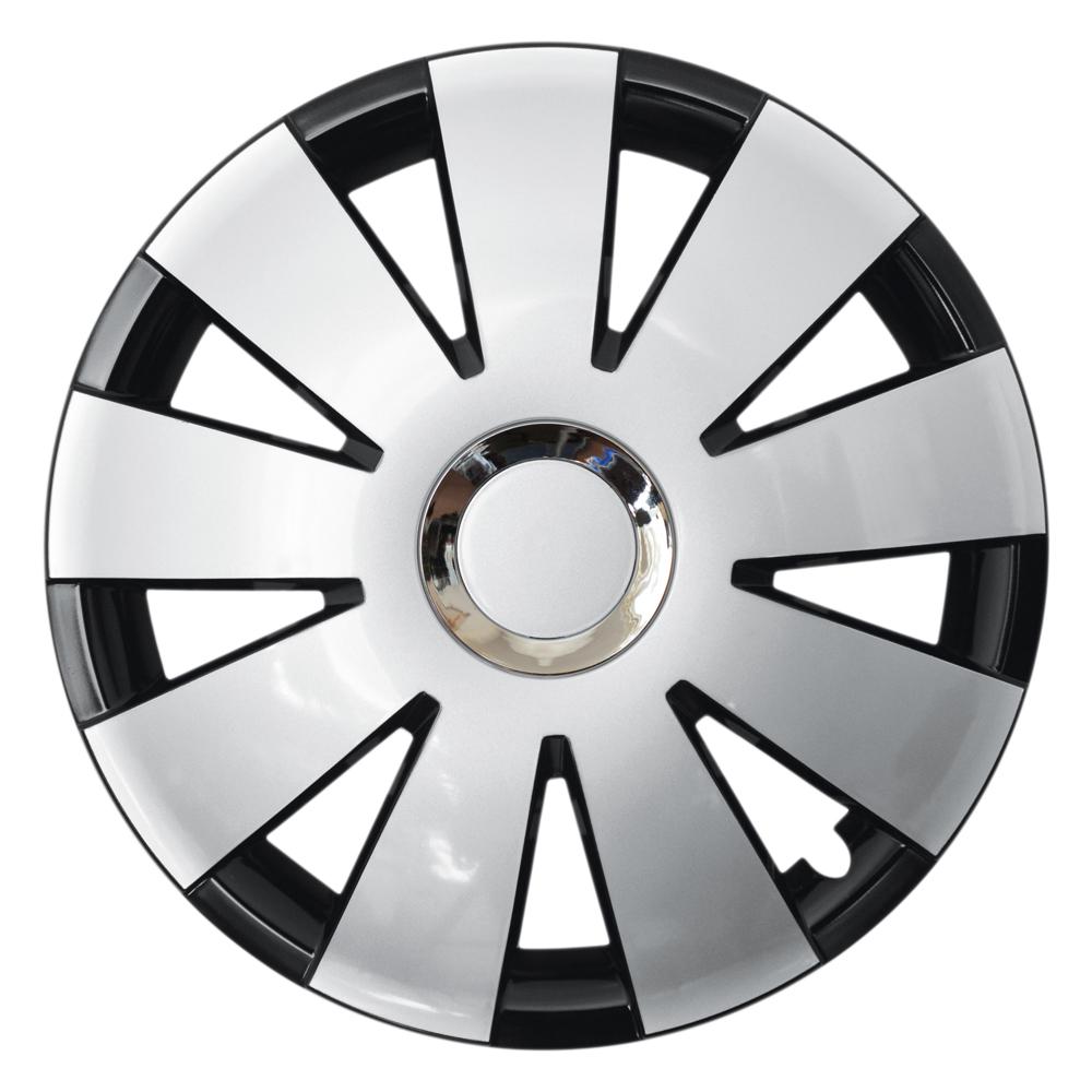 NEFRYT CHROME black silver - Auto-Radkappen.de