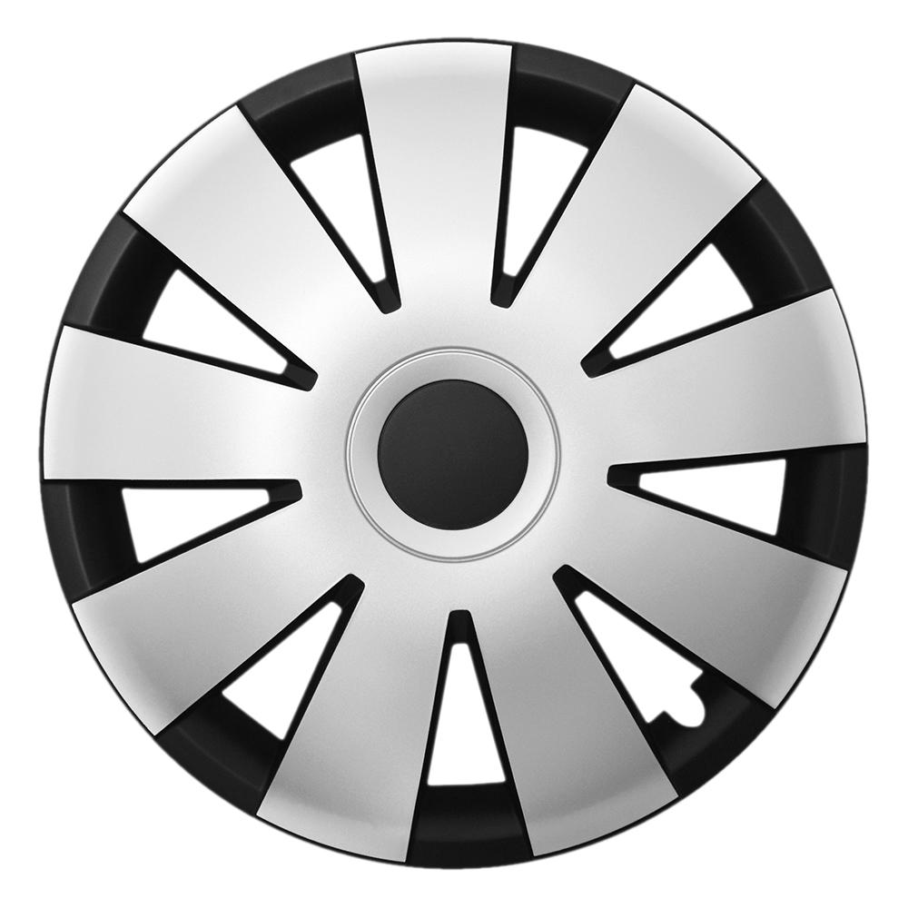 NEFRYT schwarz silver - Auto-Radkappen.de