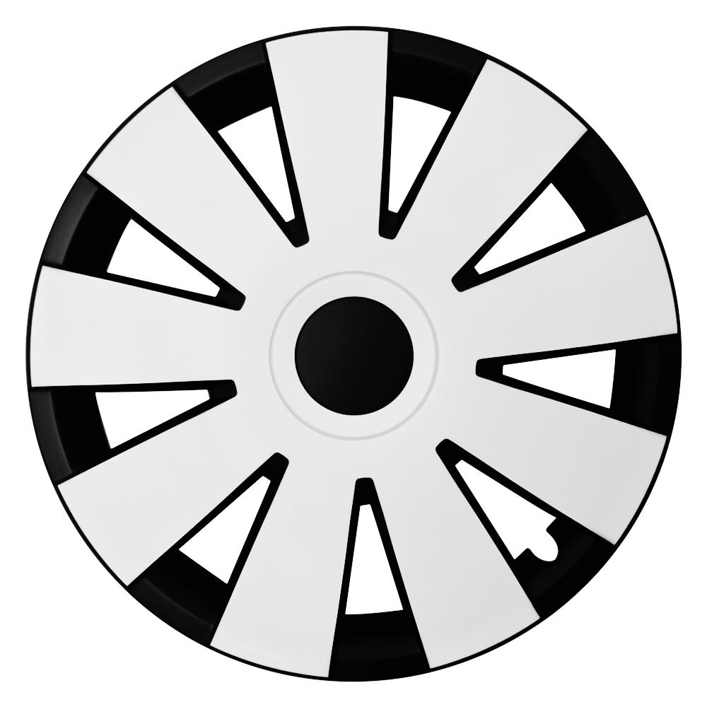 NEFRYT schwarz weiß - Auto-Radkappen.de