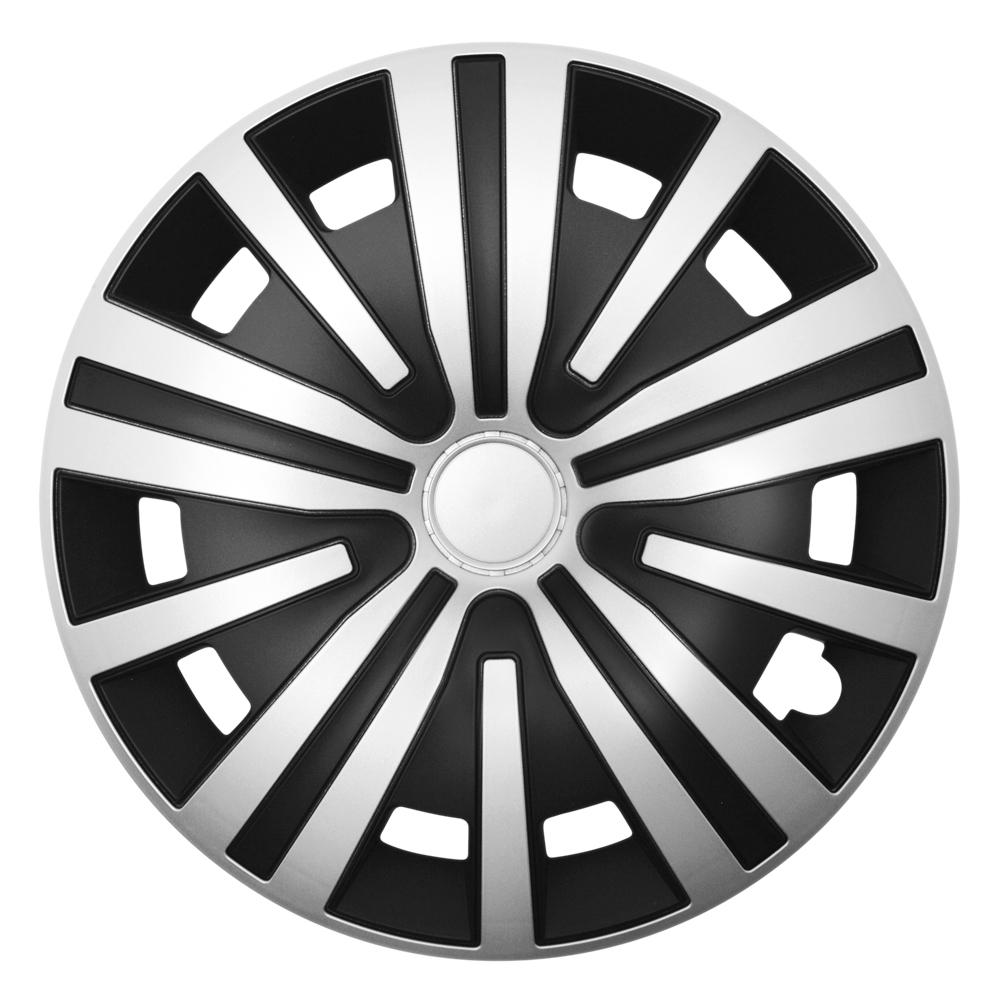 SPINEL silver schwarz - Auto-Radkappen.de