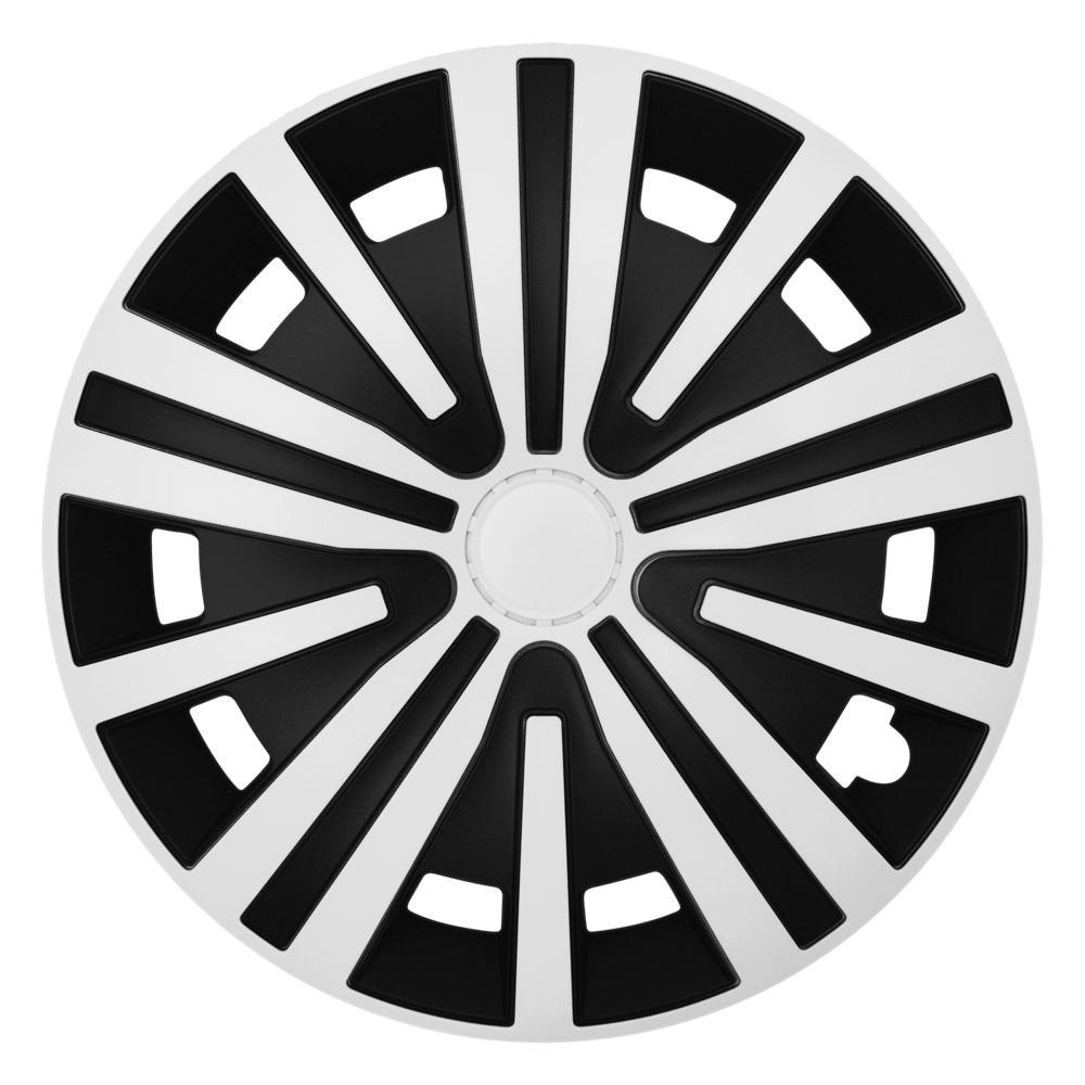 SPINEL white black - Auto-Radkappen.de