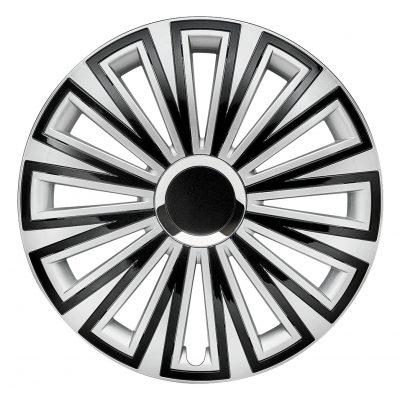Sunset silber schwarz - Auto-Radkappen