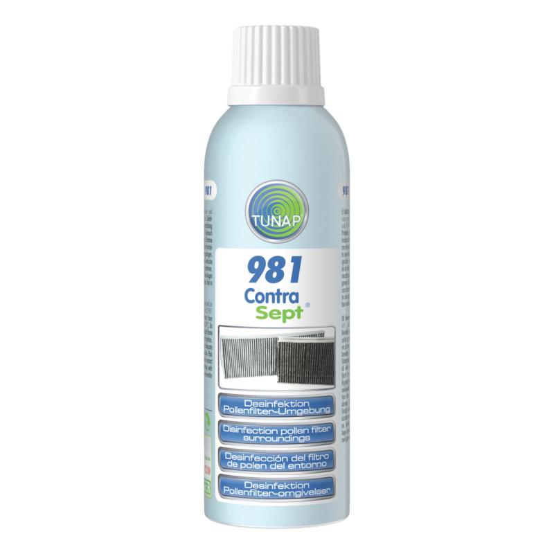 TUNAP 981 Desinfektion Pollenfilterbox